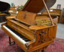 Circassian walnut Steinway Louis XVI grand